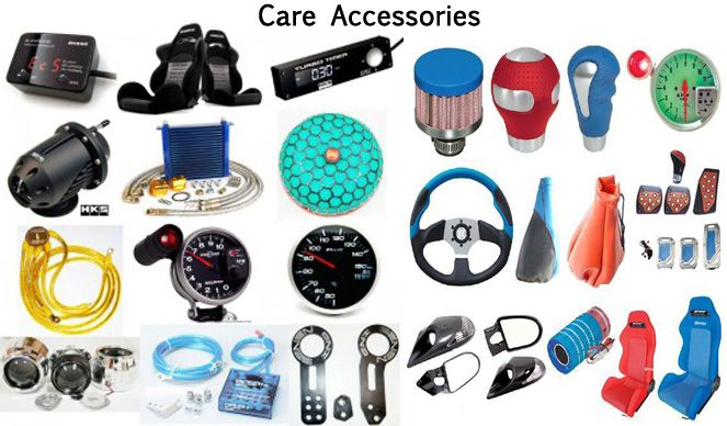 Car accessories shop in Kanpur