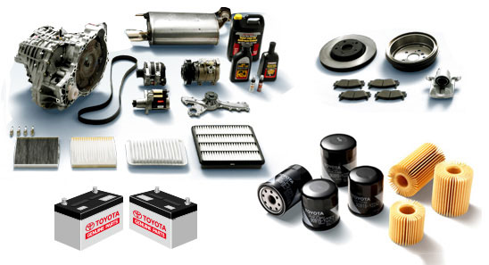 TOYOTA SPARE PARTS IN KANPUR